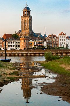 Lebuïnuskerk Deventer vanaf De Worp van Robin Velderman