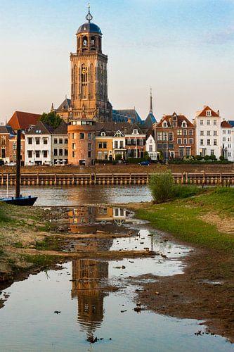 Lebuïnuskerk Deventer vanaf De Worp