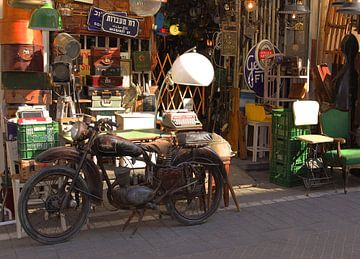Vintage winkeltje Tel Aviv van Inge Hogenbijl