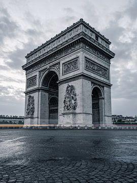 Arc de Triomphe, Parijs, Frankrijk van Lorena Cirstea