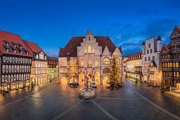 Nacht in Hildesheim von Michael Abid