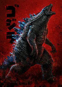 Godzilla von Nikita Abakumov