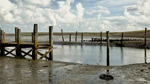 Oude haven Waddenzee