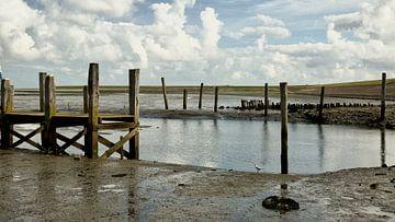 Oude haven Waddenzee van Sran Vld Fotografie