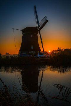 Sonnenaufgang in Hensbroek von peterheinspictures