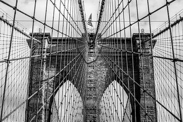 Brooklyn Bridge touwen van