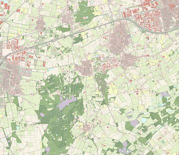 Kaart vanRucphen