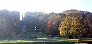 Kleve, Forstgarten van