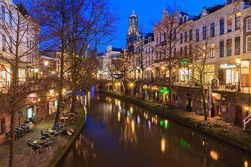 Utrecht at dusk sur Marcel Tuit