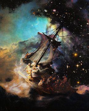 Sturm auf Galilei von Zanolino und Rembrandt