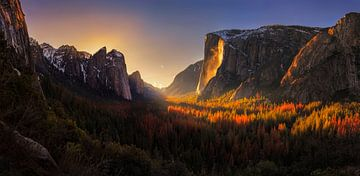 Yosemite Firefall, Yan Zhang von 1x