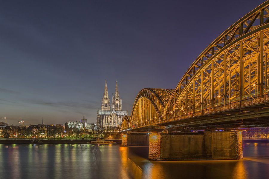 Köln - Dom und Hohenzollernbrücke (2)
