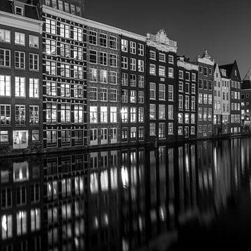 Kanalhäuser Amsterdam von Albert Mendelewski