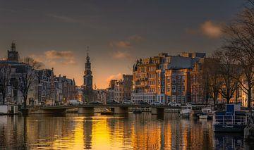Amsterdamse Munttoren van Peter Gude