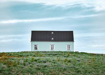 Haus in Island von Matthijs Van Mierlo