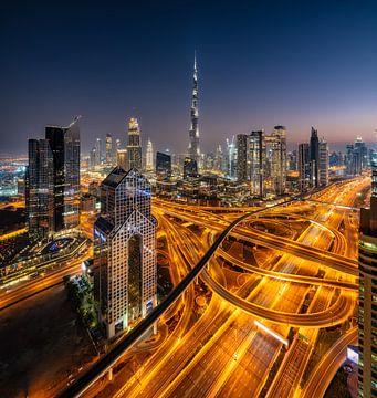 Dubai Skyline von Achim Thomae