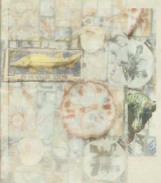 Antieke Collage van Susan Stiletti