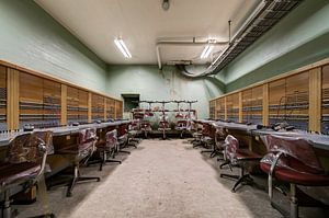 Verlassenes Hauptquartier des Kalten Krieges