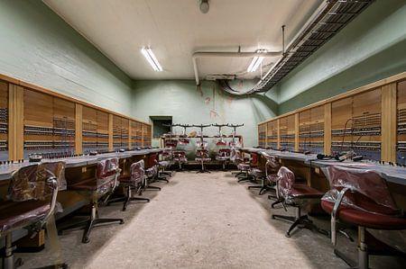 Abandoned coldwar headquarter van Celine van aard
