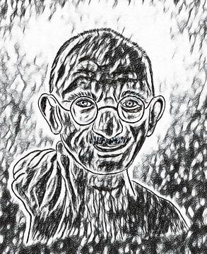 Gandhi von Jose Lok