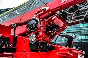 Magirus Ladderwagen Brandweer Twente