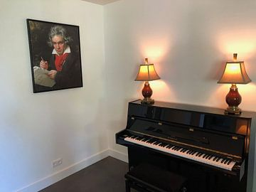 Kundenfoto: Porträt von Ludwig van Beethoven, Karl Joseph Stieler