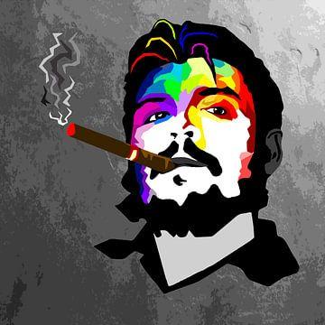 Che Guevara cigare van Damien Vincent