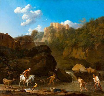De watervallen bij Tivoli, Karel Dujardin