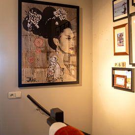 Kundenfoto: YU von LOUI JOVER, als gerahmtes poster