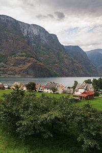 Noorse huisjes van