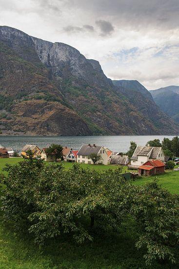 Noorse huisjes van Bas Nuijten