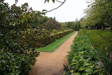 Coin d'un jardin de château sur whmpictures .com