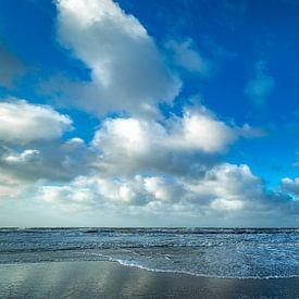 Hollandse wolken aan de Noordzee van Texel eXperience