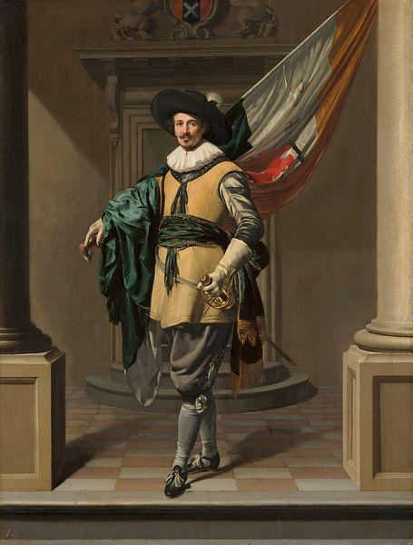 Portret van Loef Vredericx,Thomas de Keyser van Meesterlijcke Meesters