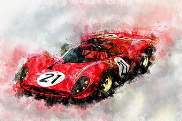 Ferrari 330 P4 von Theodor Decker