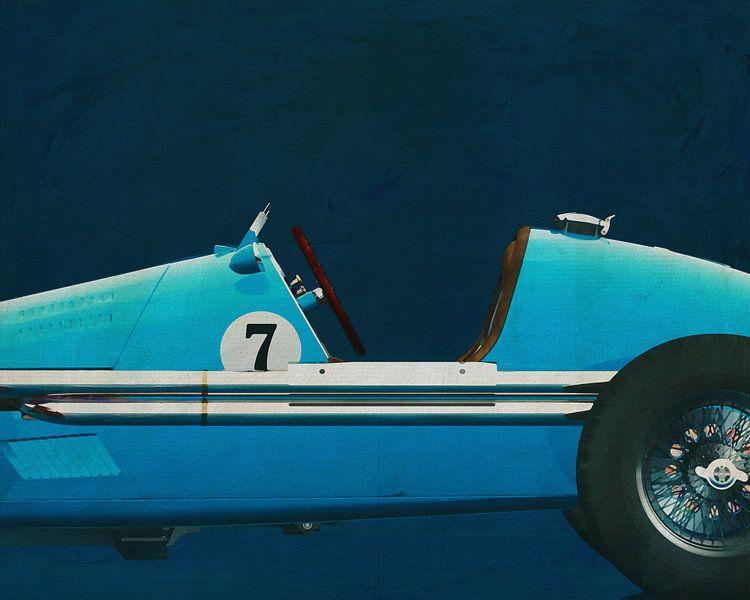 Gordini Grand Prix Close Up van Jan Keteleer