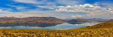 Panorama see von Lagunillas, Peru von Henk Meijer Photography