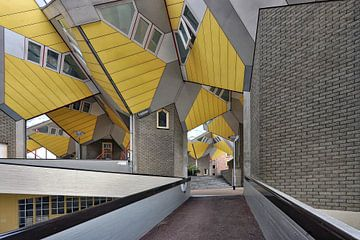 Cube Houses Rotterdam. von Tilly Meijer