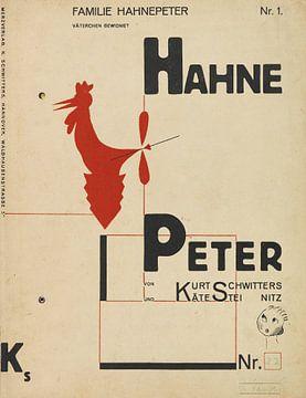 KURT SCHWITTERS, Hahne Peter, 1924