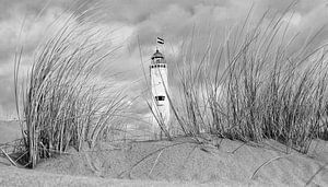 Vuurtoren Noordwijk aan Zee van Hans Vink