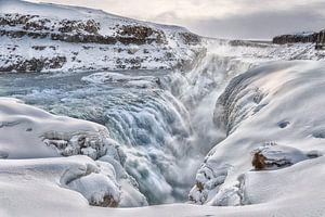 Gullfoss, Waterval, IJsland