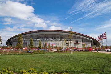 Stadion Atletico Madrid van Nathalie van der Klei