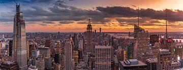 L'horizon de New York sur Remco Piet
