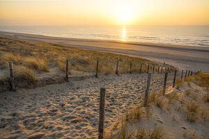 Strand, zee en zon van
