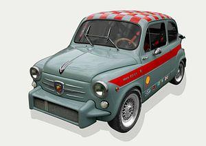 Fiat Abarth 1000 TC van aRi F. Huber