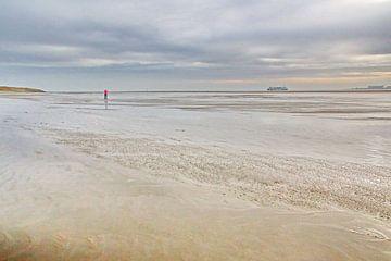 Waddenzee bij Texel van Henk Langerak