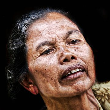Vrouw op Bali van Ewout Paulusma