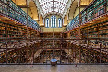 Bibliotheek Rijksmuseum Amsterdam van Foto Amsterdam/ Peter Bartelings