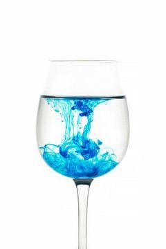 Glas met kleur sur Tanja van Beuningen