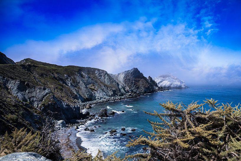 Highway One Californië van VanEis Fotografie